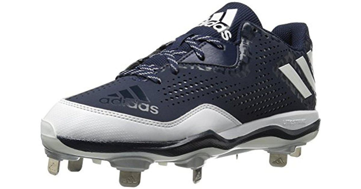 timeless design 8c89a 91bde Lyst - adidas Performance Poweralley 4 W Baseball Shoe in Blue for Men