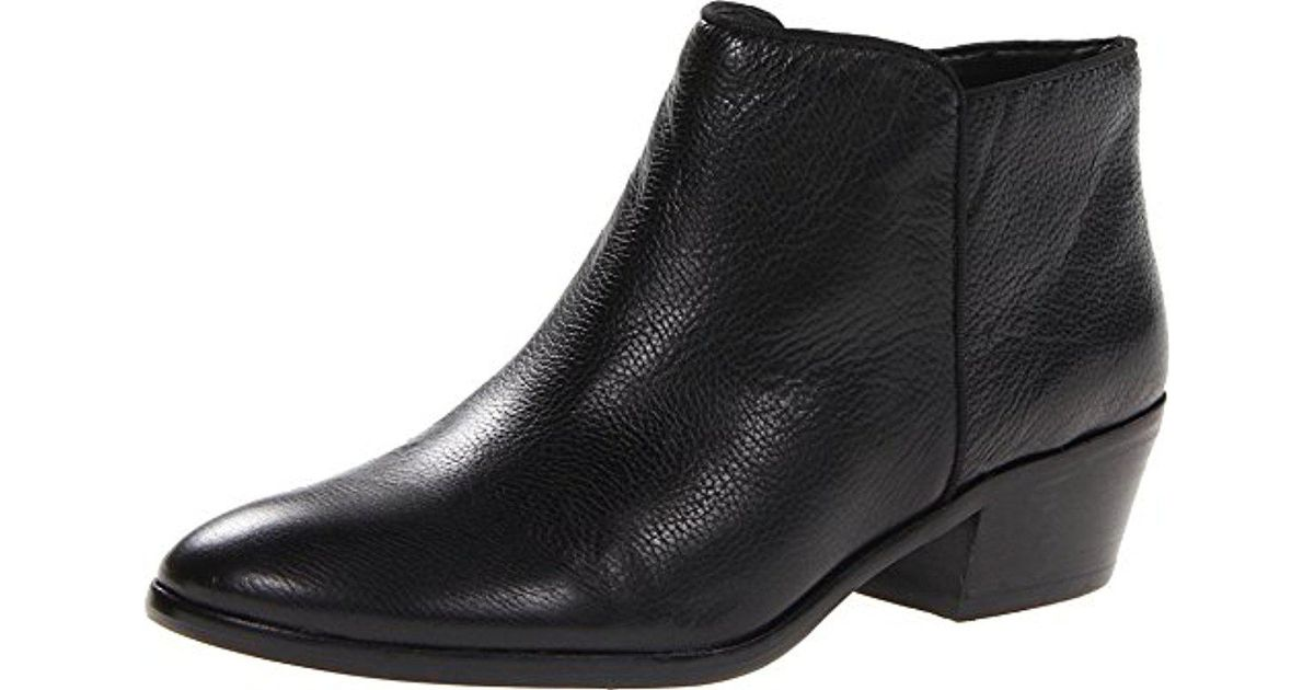 f105941208c754 Lyst - Sam Edelman Petty Leather Boot in Black