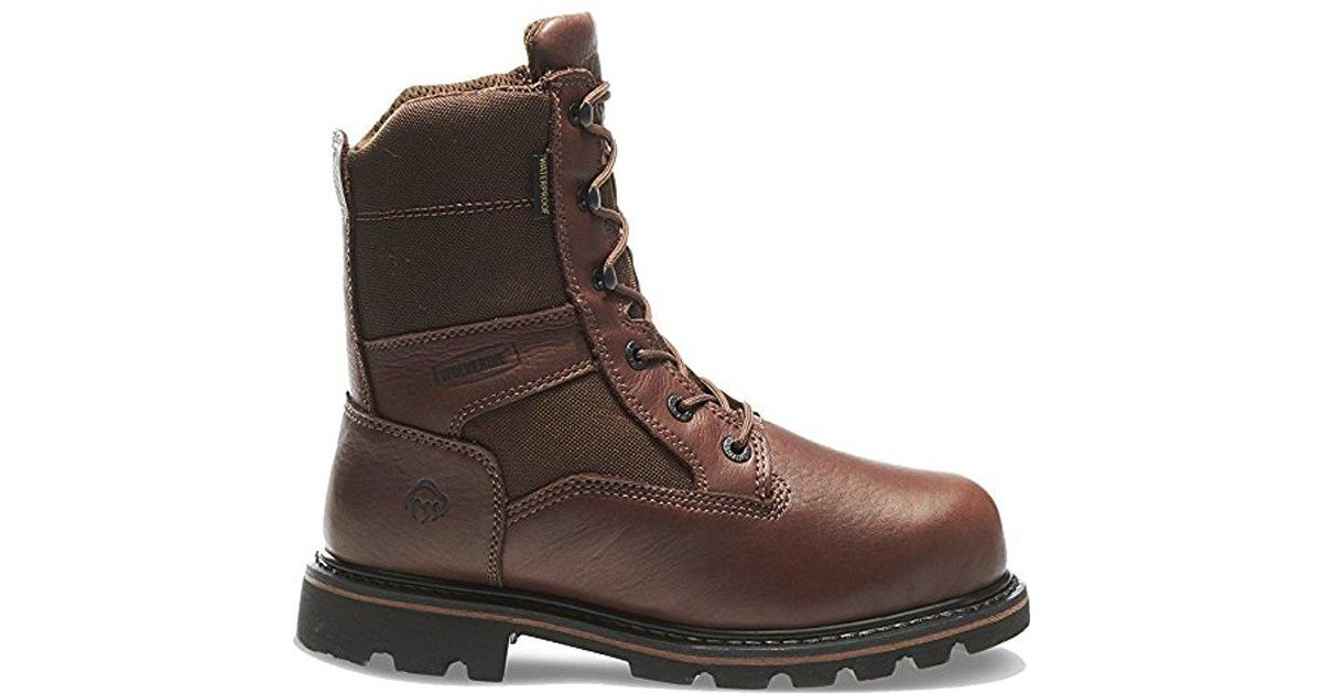 e6f6abadb2f Wolverine - Brown W03511 Novack 8-inch Work Boot for Men - Lyst