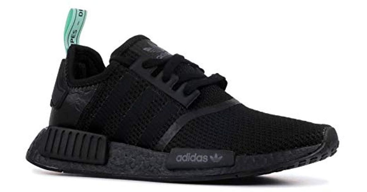 16a7134d7095 adidas  s Nmd r1 W Gymnastics Shoes Pink in Black - Lyst