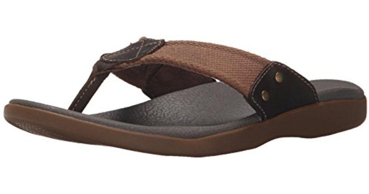 6dd900c8a443 Lyst - Dockers Sundale Flip Flop in Brown for Men