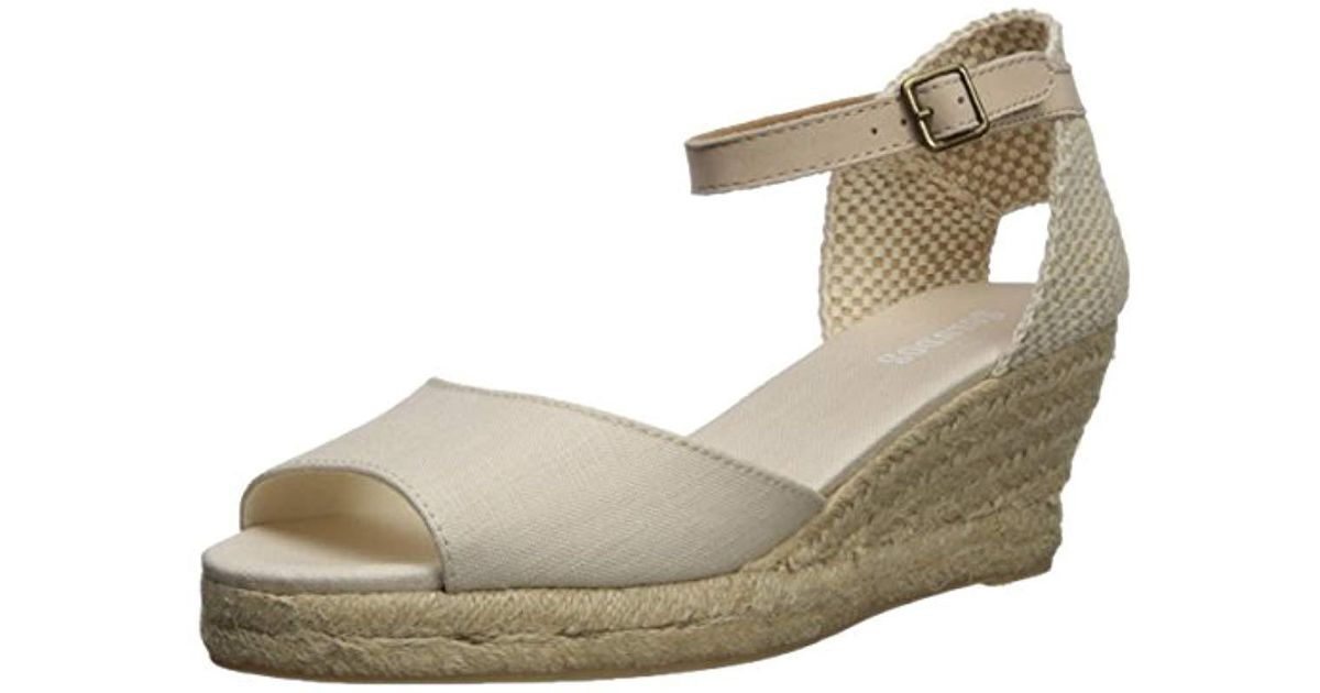 9d868e4eb50 Lyst - Soludos Open-toe Midwedge (70mm) Espadrille Wedge Sandal - Save 1%