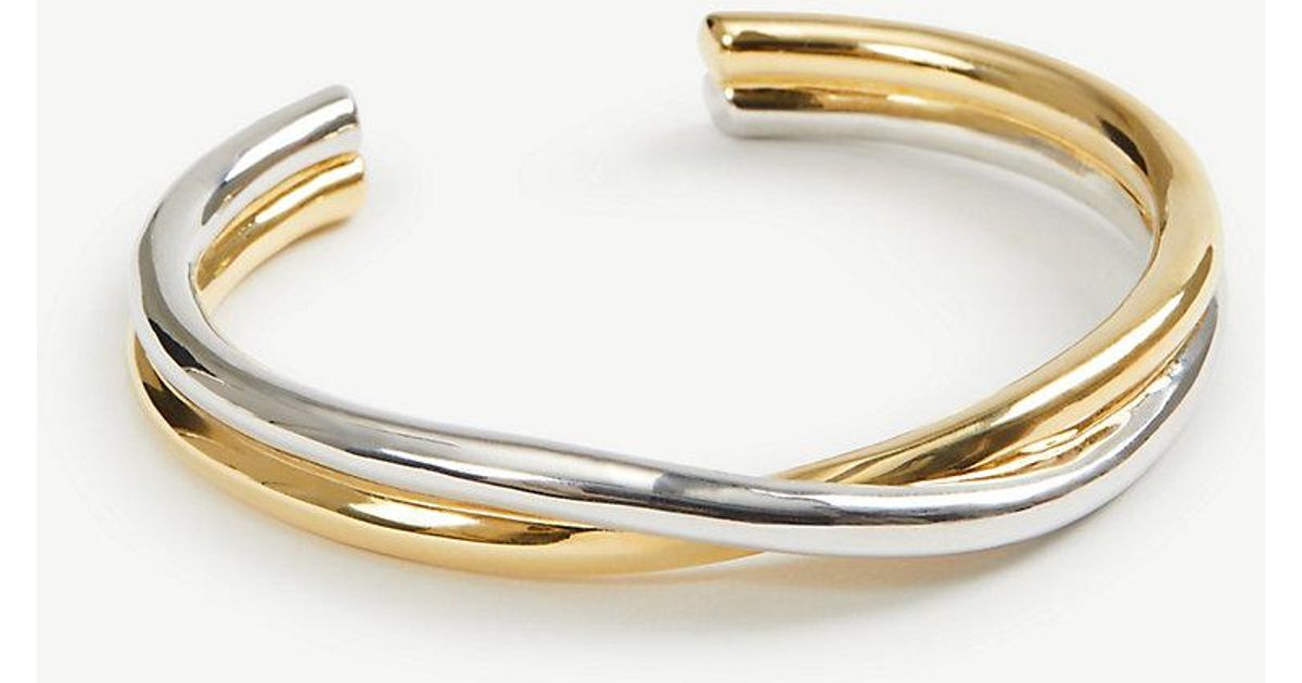 twisted gold bracelet luxcollection piemer