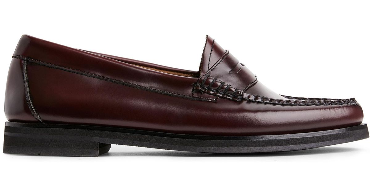 d8ee9978cf5 ARKET G.h Bass Weejuns Penny Winter Loafer in Brown - Lyst