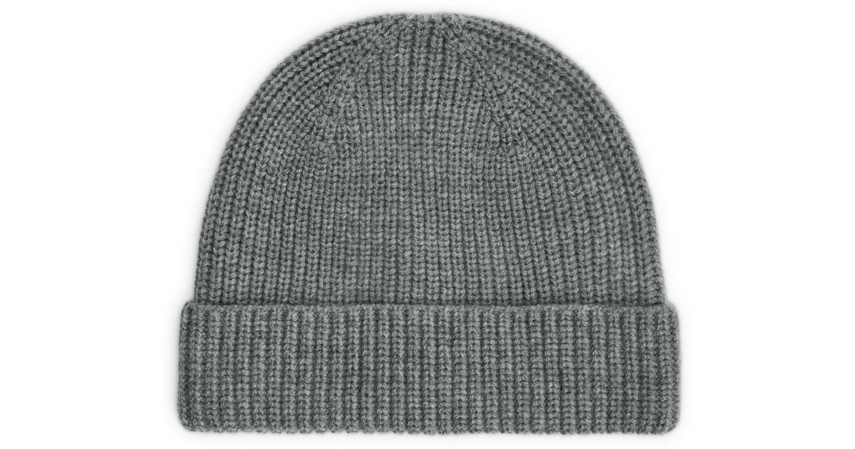 f8d2ff9463d ARKET Recycled Cashmere Beanie in Gray - Lyst