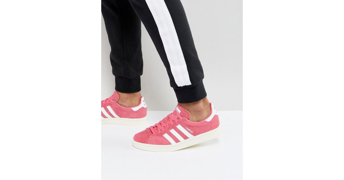 uk availability 07c03 e91cb Lyst - adidas Originals Campus Sneakers In Pink Bz0069 in Pi