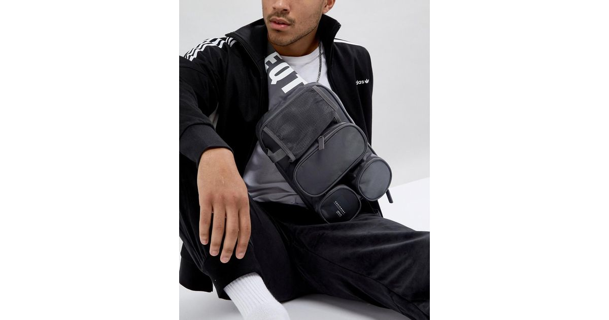Lyst - adidas Originals Eqt Cross Body Bag In Gray Cd6953 in Gray for Men 5f8b30d150445