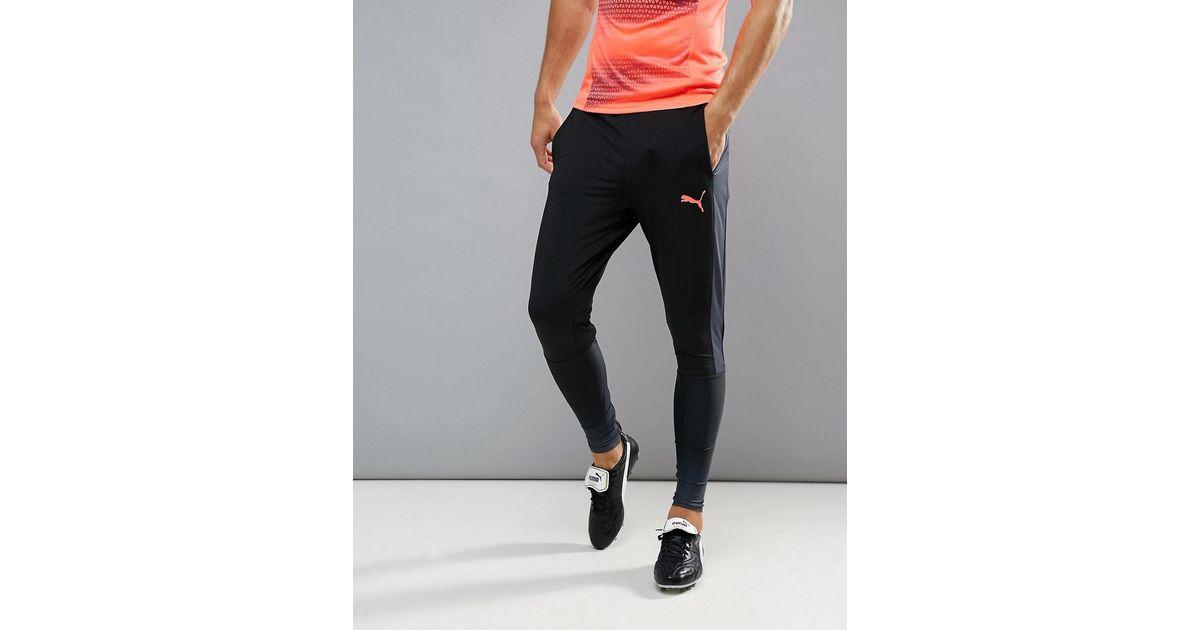 55c2d3c84680 Lyst - PUMA Football Evotrg Training Tech Pants In Black 65536106 in Black  for Men