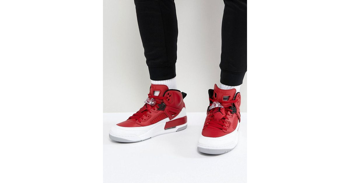e4e2ecb7f6c1b4 Nike Nike Spizike Retro Trainers In Red 315371-603 in Red for Men - Lyst
