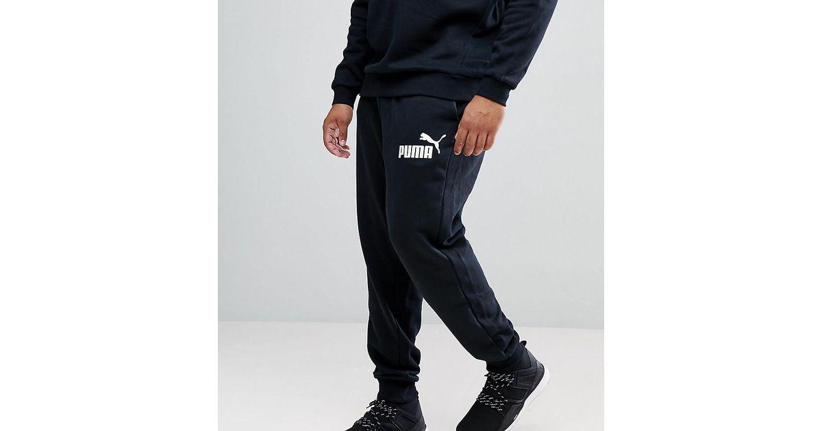 99f70cb576c2 Lyst - PUMA Plus Ess No.1 Joggers In Black 83826401 in Black for Men