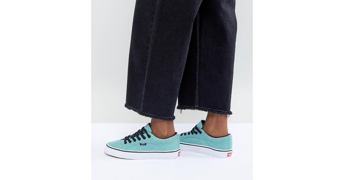 720ce36fcb4aa1 Vans Lampin Unisex Trainers In Teal in Green - Lyst