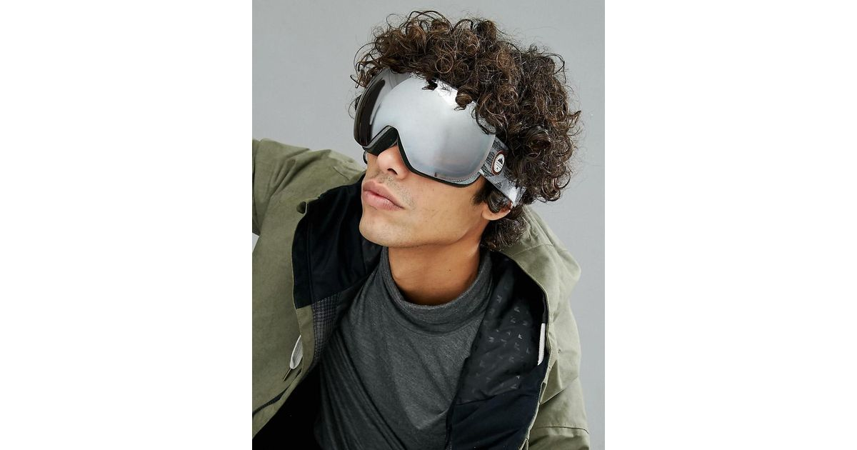 ad9d5bf9b3ca Lyst - Quiksilver Grey Qs rc Ski Goggles With Reflective Lens in Gray for  Men