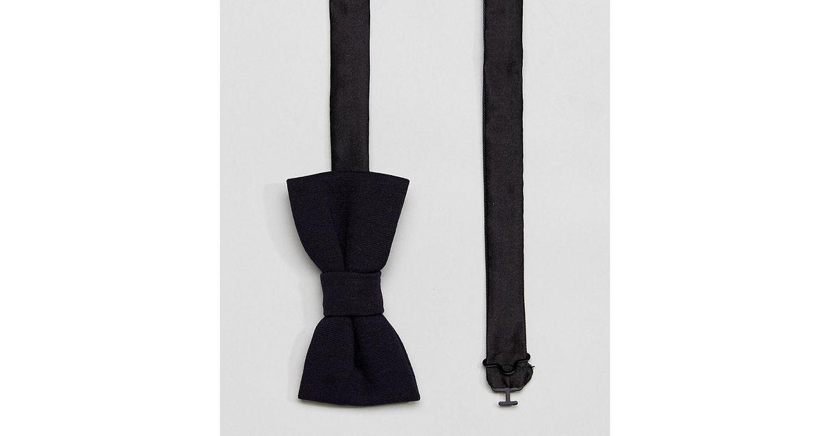 Bow Tie In Jersey - Navy Noak lXVt2v55G