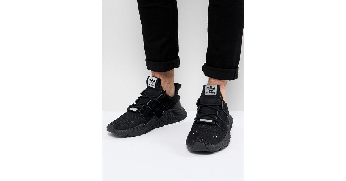 ac184f0ea4b127 Lyst - adidas Originals Prophere Sneakers In Black B22681 in Black for Men