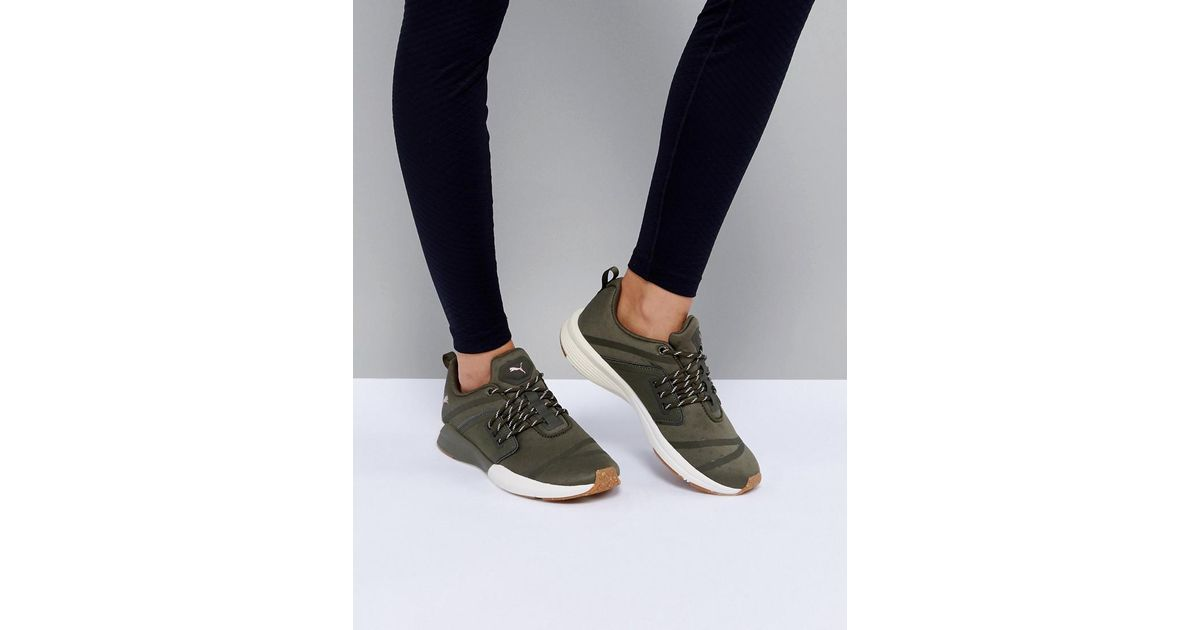 9f12594d239b PUMA Pulse Ignite Xt Sneakers In Khaki in Green - Lyst