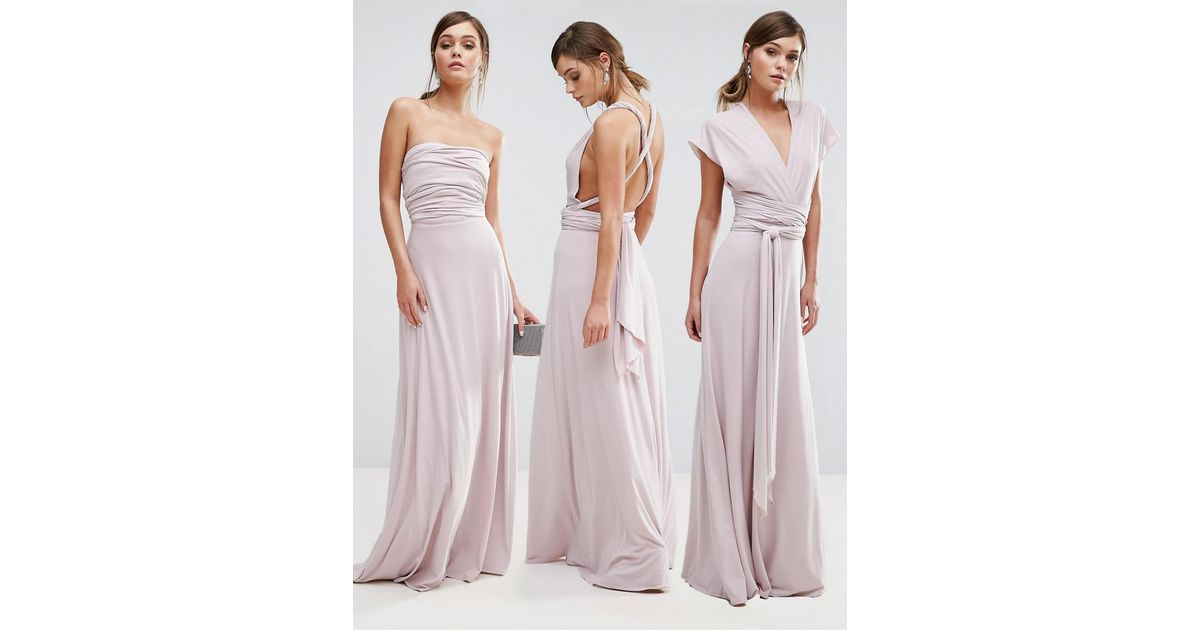 entire collection new images of top-rated latest Coast Pink Corwin Multi-tie Maxi Dress