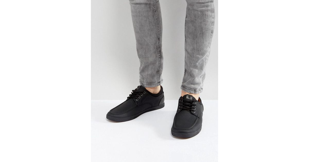 a64da9a7278 Lyst - Call It Spring Fabiano Boat Shoes In Black in Black for Men