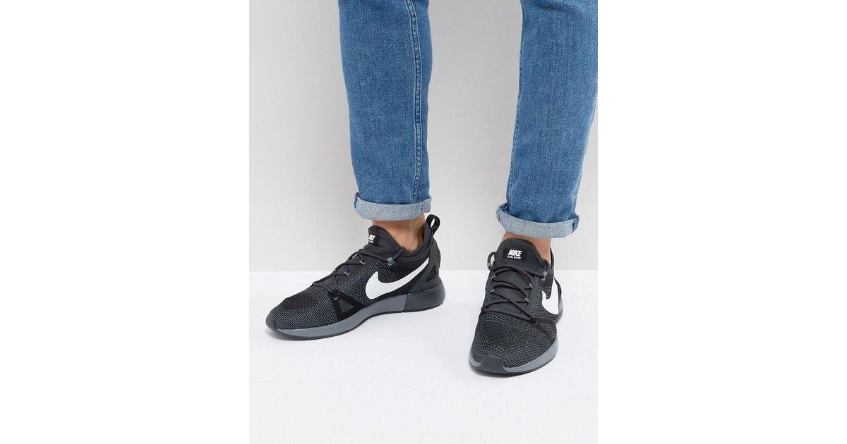 Nike Formateurs Coureur De Duelist En Triple Noir 918228-007 - Noir eOnGV
