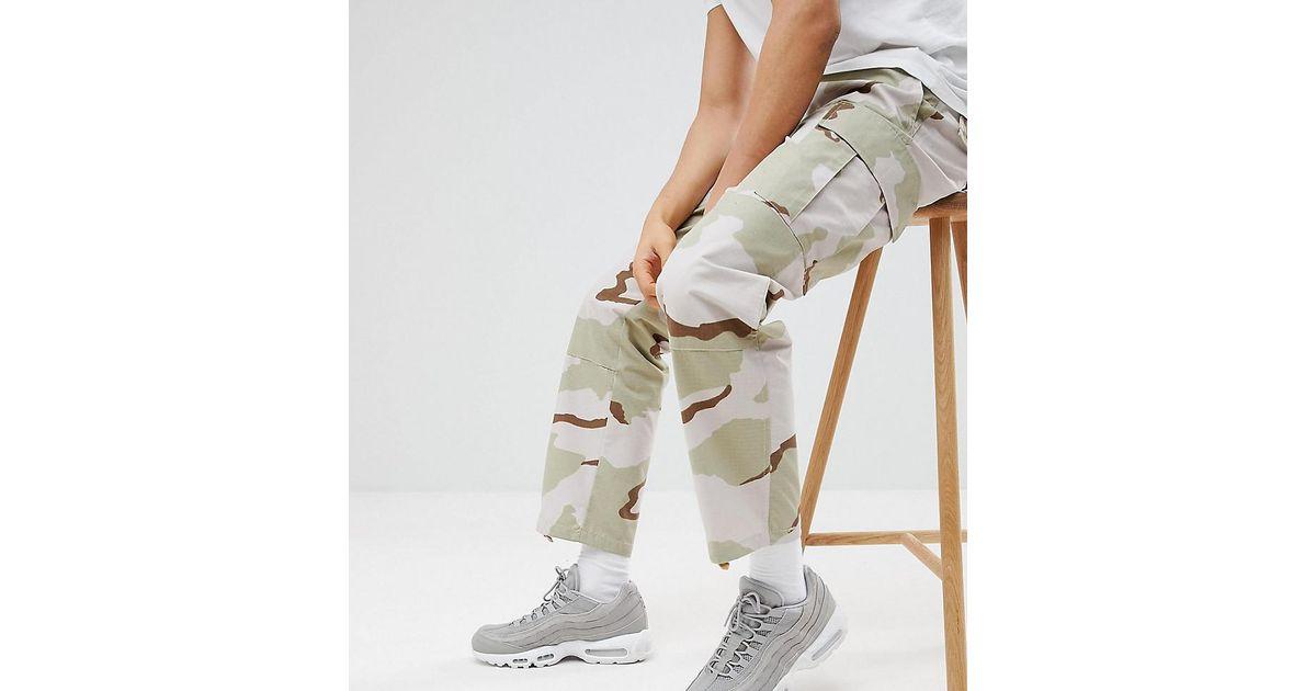 Reclaimed Vintage Revived Desert Camo Trouser For Men Lyst