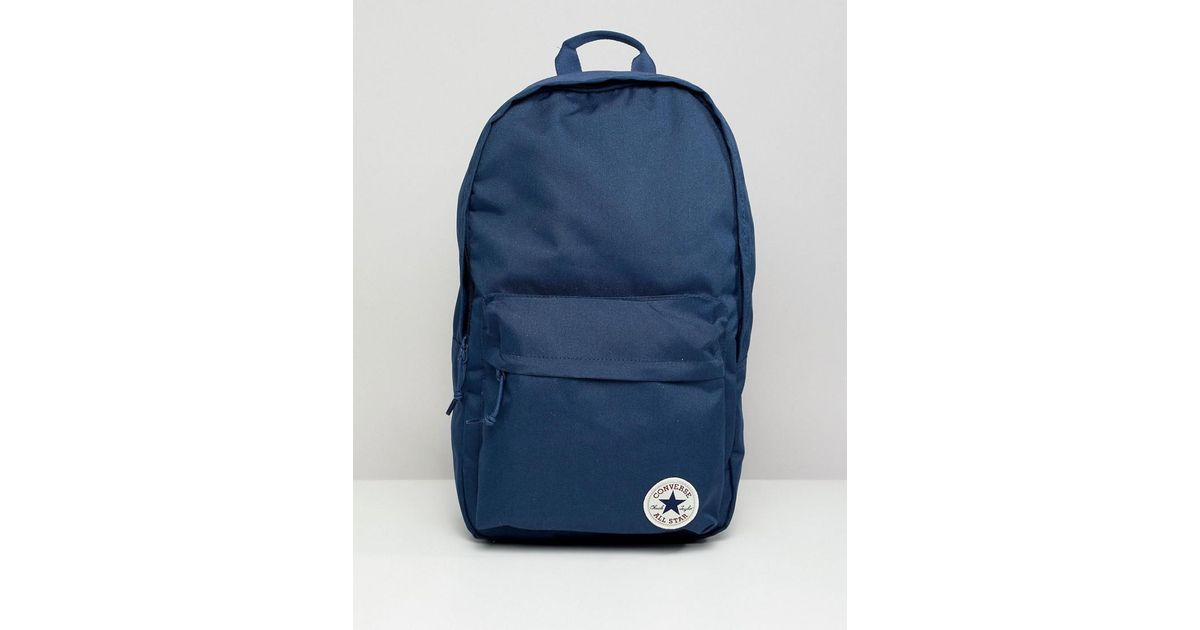 Converse Backpack In Navy 10003329-a02 in Blue for Men - Lyst 6b68bd5435