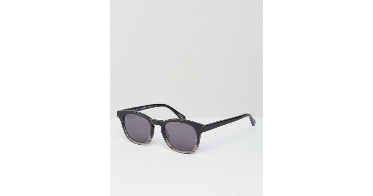 d8de5e359d Lyst - Raen Suko Square Sunglasses In Varley Black in Black for Men