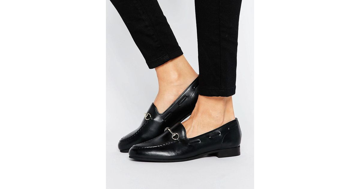 e74bf4c44a4 Lyst - H by Hudson H By Hudson Snaffle Loafers in Black