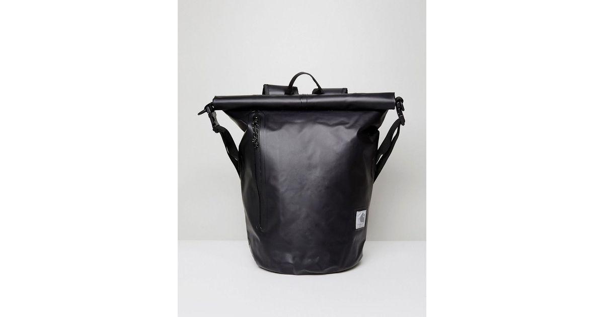 Lyst - Carhartt WIP Neptune Waterproof Backpack In Black in Black for Men e93c741477fd