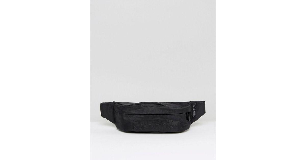 8e228dc5fb Reebok Bumbag In Black Aj5938 in Black for Men - Lyst