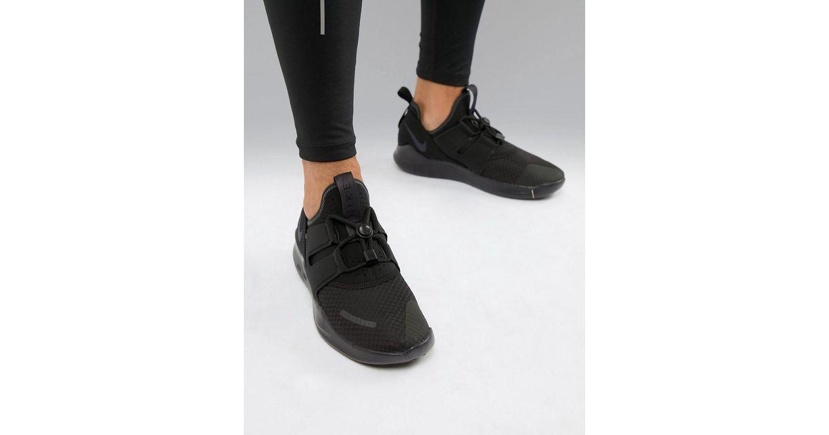 3916040a18f Nike Free Run Commuter 2018 Sneakers In Triple Black Aa1620-002 in Black for  Men - Lyst