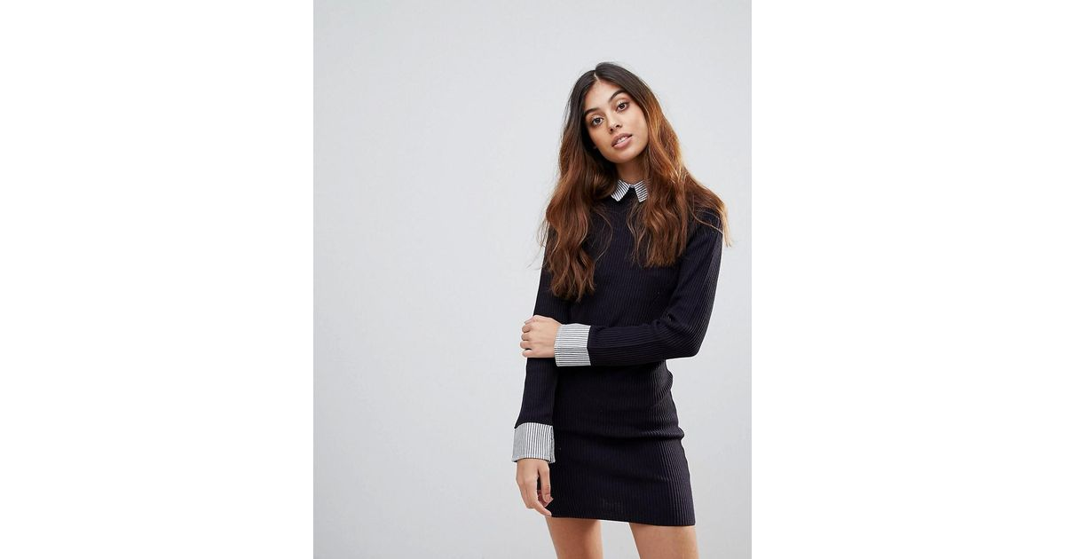 95af6b74a28 French Connection 45 Degree Sweater Dress in Blue - Lyst