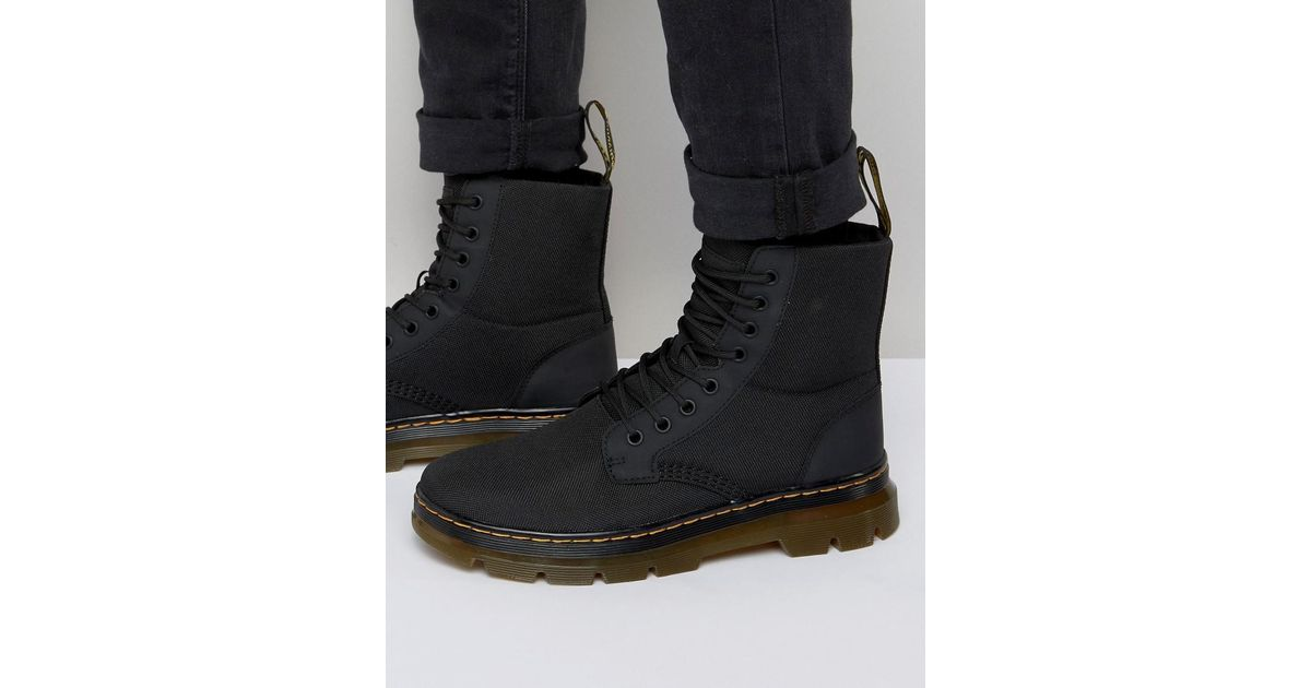 Huge Surprise Cheap Online Where To Buy Low Price Tract Fold Boots - Black Dr. Martens Buy Cheap With Credit Card aztarn9