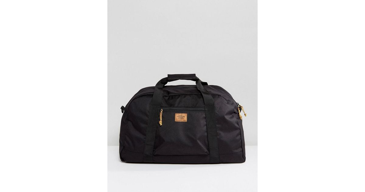9909616538 Timberland Crofton 48 Hour Duffle Bag In Black in Black for Men - Lyst