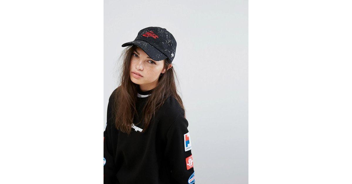 05e5538961d9e Lyst - Hype X Coca Cola Cap In Black in Black