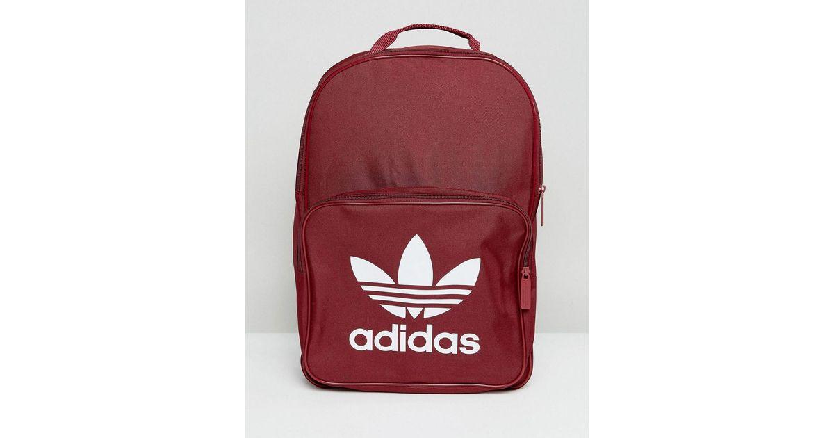 En Dos Avec Logo Originals À Classique Lyst Sac Trèfle Adidas OTXZPkiu