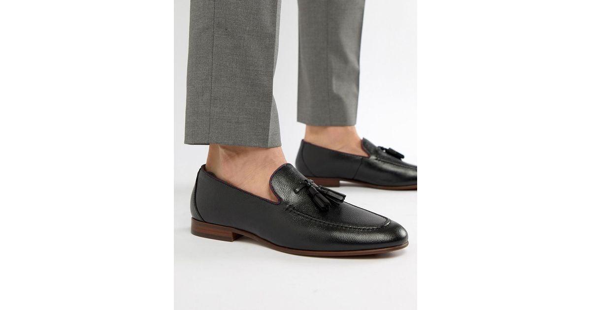 3183f4cc226 ALDO Wyanet Tassel Loafers In Black in Black for Men - Lyst