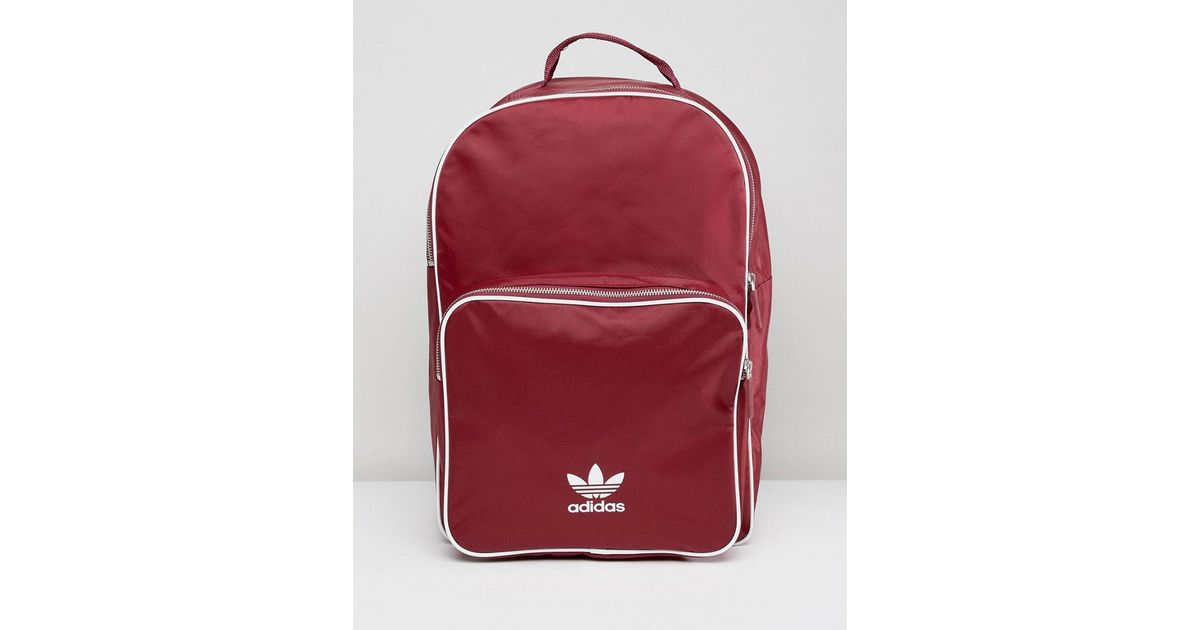33f4549f332e Lyst - adidas Originals Adicolor Backpack In Burgundy Cw0627 in Red for Men