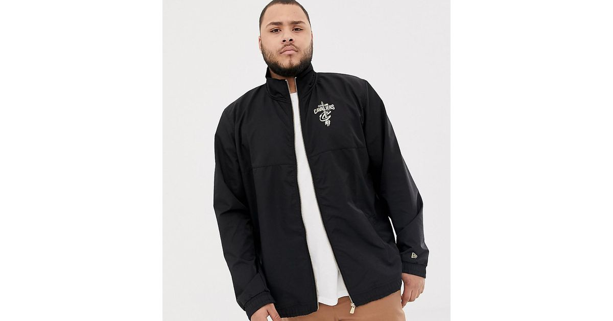 24229d5e66ca6 KTZ Cleveland Cavaliers Track Jacket In Black Exclusive To Asos in White  for Men - Lyst