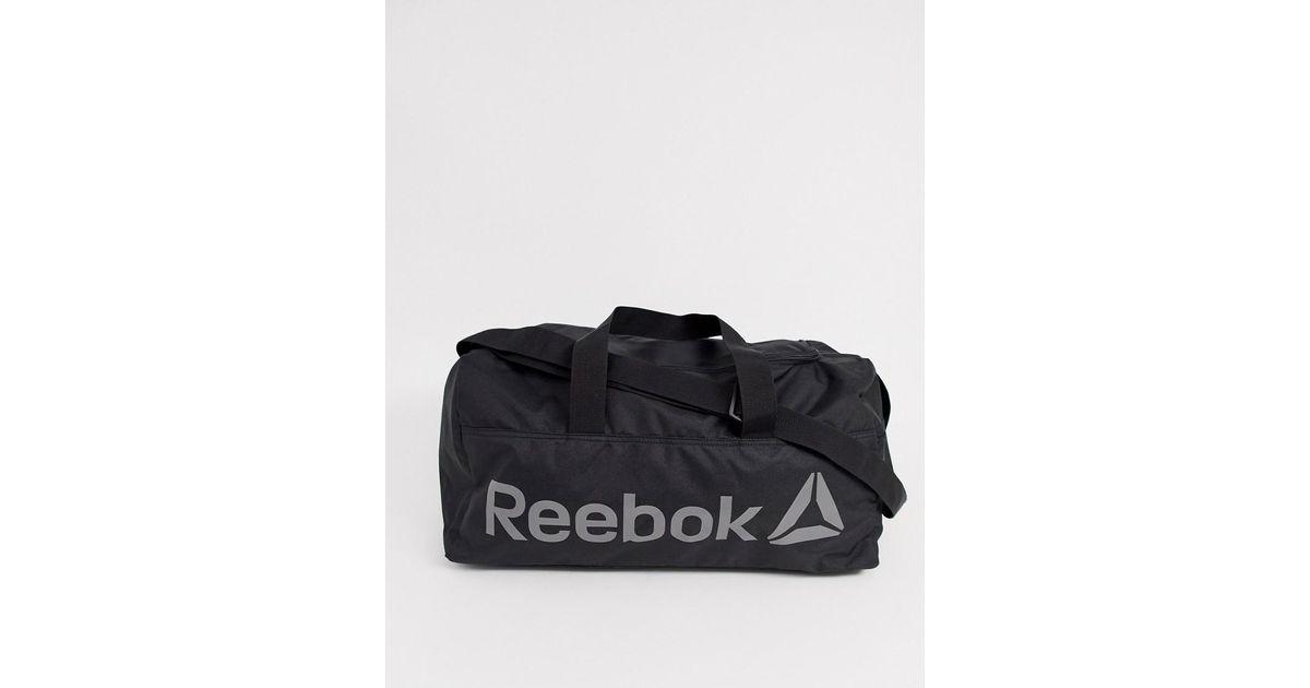 557713f6dc1 Reebok Training Medium Holdall In Black in Black for Men - Lyst