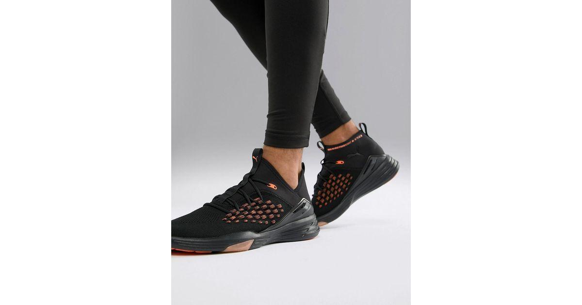 ac012152650c5 Lyst - PUMA Training Mantra Sneakers In Black 191395-01 in Black for Men