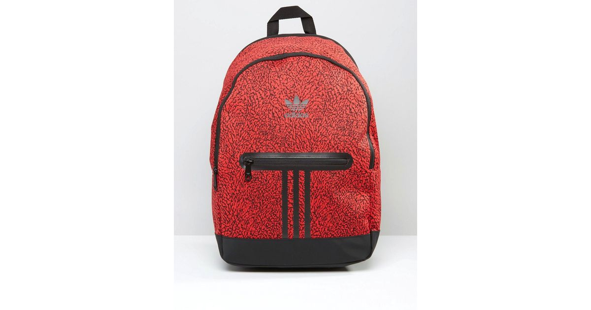 ca987ba696 Lyst - adidas Originals Backpack In Red Ay7839 - Red for Men