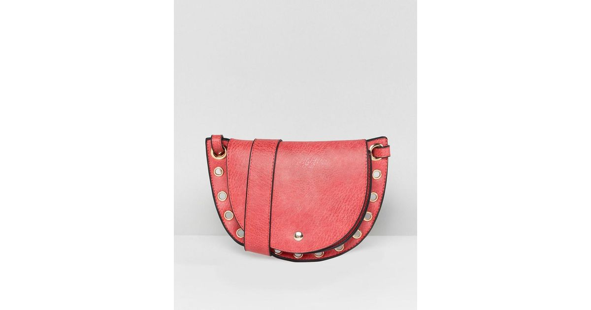 bcd4a160b3 Lyst - Yoki Fashion Hybrid Cross Body And Bum Bag In Red in Red