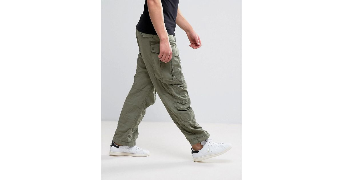 retail prices incredible prices the best attitude G-Star RAW Cotton Rovic Parachute Cargo Pant in Green for ...