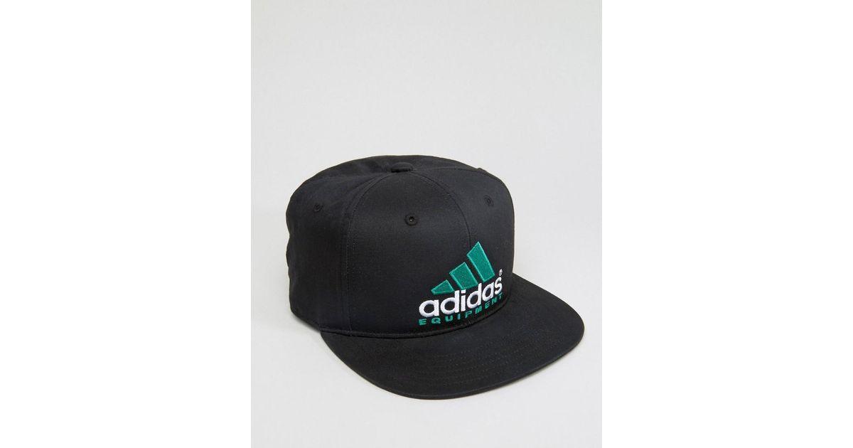 Lyst Adidas Originals Equipo Snapback Adidas en Ay9420 negro Ay9420 Lyst en negro ef70c13 - rspr.host