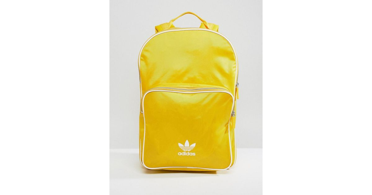 Lyst - adidas Originals Backpack In Mustard in Yellow 9b2946e635ab0