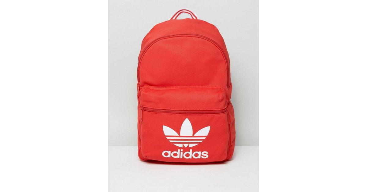 ab7af642797a Lyst - adidas Originals Adidas Tricot Classic Backpack in Red for Men