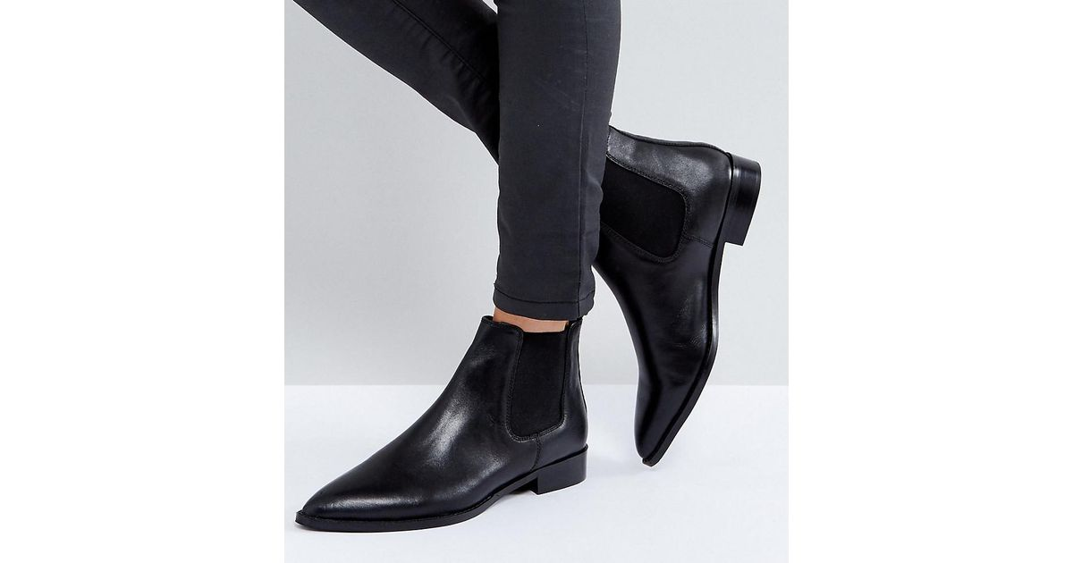 AUTOMATIC Leather Chelsea Boots - Black leather Asos Cheap For Cheap For Cheap Largest Supplier New Styles Online Outlet 100% Guaranteed U8FvsuM6xw