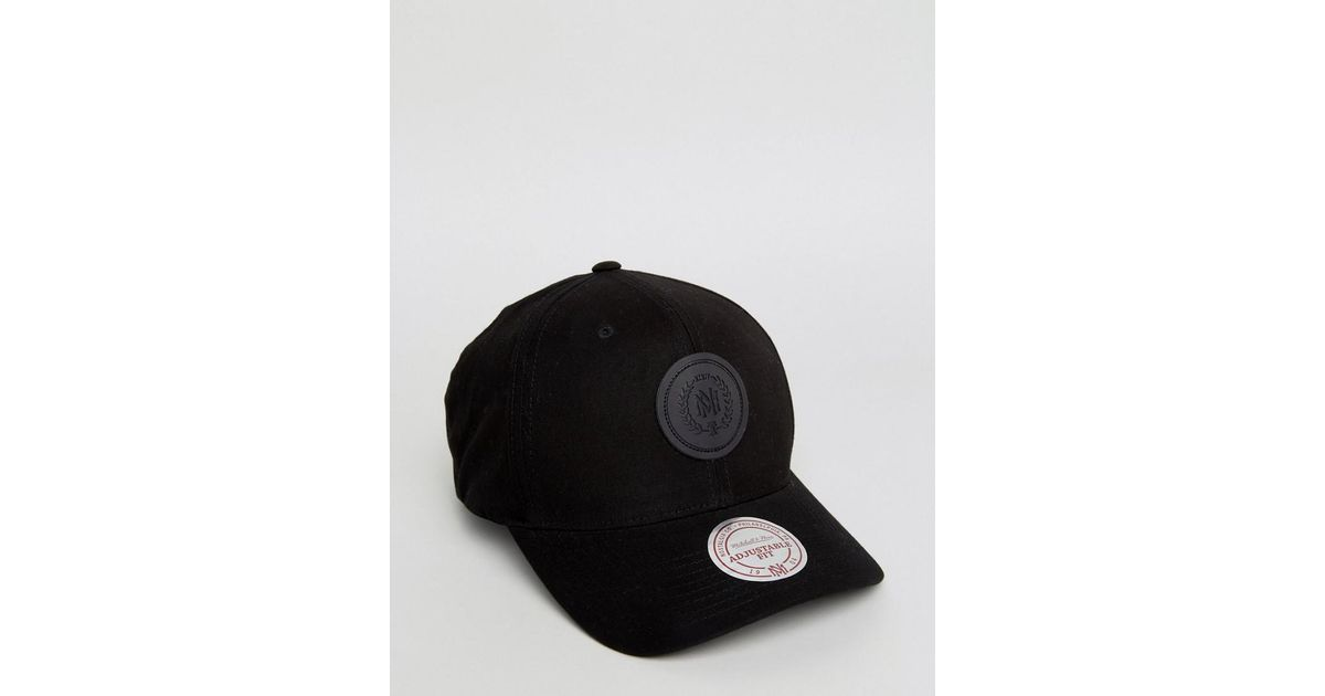 Lyst - Mitchell   Ness 110 Flexfit Cap Exclusive To Asos in Black for Men 0dab94d48fb