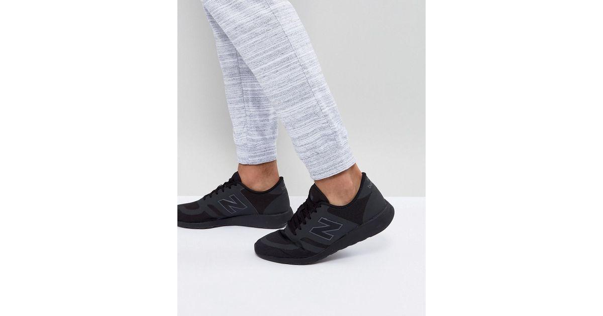 New Balance 420 Trainers In Black Mrl420tt for men