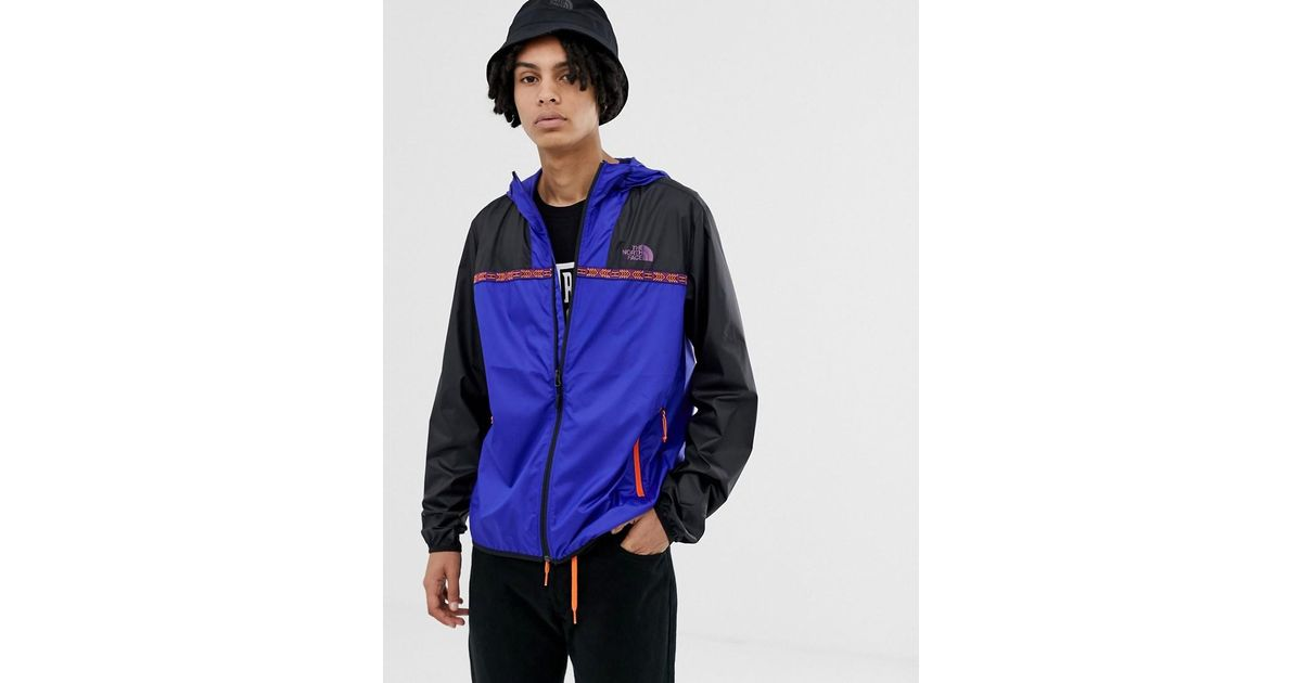 The North Face 92 Rage Novelty Cyclone 2.0 Jacket In Blue in Blue for Men -  Lyst d8d6624a4a