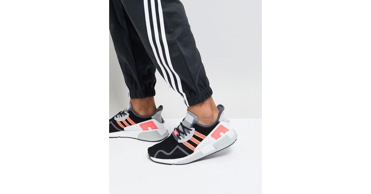 brand new da0ba 93614 adidas Originals Eqt Cushion Adv Trainers In Black Ah2231 in Black for Men  - Lyst